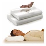 Almohada Ortopedica + Funda Memory Latex Pillow Indeformable