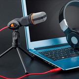 Microfono Youtube Computador Condensador Profesional