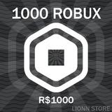 Roblox 1000 Robux | Entrega Inmediata