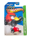 Juguete Carro Hot Wheels Angry Birds Red De Coleccion