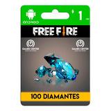 Garena Free Fire 100 Diamantes Android - Global