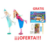 Muñecas Frozen Articuladas Patinadoras Barbie De Usa