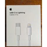 Cable Usb Tipo - C A Lightning Apple Iphone 1 Metro Original