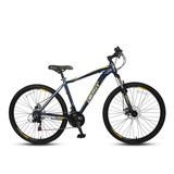 Bicicleta Best De Hombre Lance Aro 29 Azul/amarillo