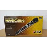 Microfono Karaoke Portatil Magicsing Con 5000 Canciones