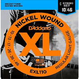 Cuerdas Dadario Exl110 Made In Usa Para Guitarra Electrica