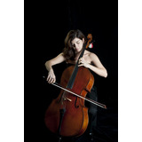 Violoncello Cello Marca Melody 4/4 Nuevo Acaba Mate