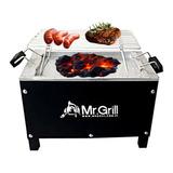 Mr. Grill - Caja China Mini S Black + Parrilla