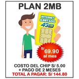 Alquilo Chip Bitel Internet Ilimitado Plan Antigu Mifi 2-4mb