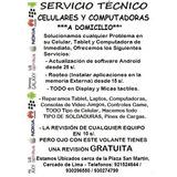 Servicio Tecnico Especializado Celulares Cambio Mica Lcd