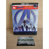 Endgame Avengers Marvel Película Blu Ray 4k Steelbook Stock