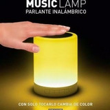 Parlante Lampara Led Bluetooth Colores Touch Handfree