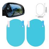 Lamina X2 Espejo Lateral Del Auto Camioneta Anti Lluvia Luz