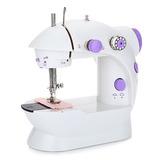 Mini Maquina De Coser   Mini Sewing Machine A Corriente 220v