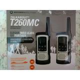 Radio Walkie Talkie Motorola T260 Mc Alta Potente