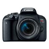 Camara Canon T7i + 18-55mm + Filtro+maletín+memoria+tripode