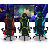 Silla Gamer Halion Ha-s42 150kg 180° Colores Disponibles