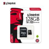 Memoria Kingston Micro Sd 128gb Xc Class 10 80mb/s
