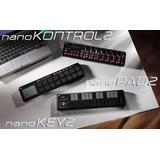 Controladores Korg Nanokey2