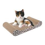 Rascador Para Gatos De Carton Sillón Con Catnip