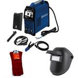 Soldadora Inverter Tc5223 200amp + Careta +guantes Toolcraft