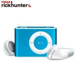 Mp3 Mini Con Audifonos Radio Fm Soporta 16gb Azul