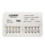 Brackets Azdent Mini Mbt 022 Ortodoncia