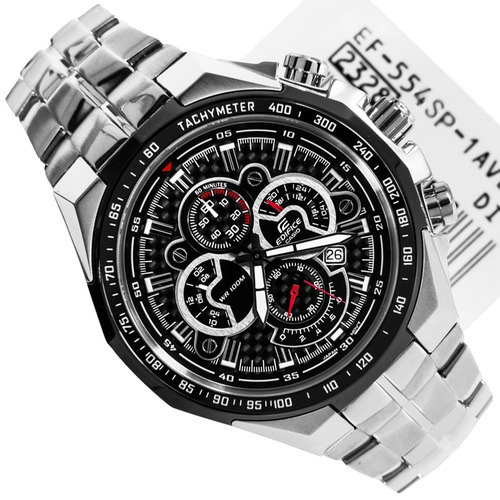 76f77c6230b6 Reloj Casio Edifice Ef 554sp-1av Nuevo Original Sellado