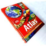 Libro Atlas Geográfico Universal Y Del Perú Geografía + Cd
