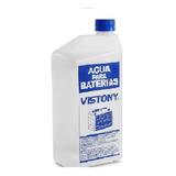 Agua Para Batería De Auto Marca  Vistony ( 1,1 Litro )