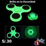 Fidget Spinner Fosforecente Por Mayor Y Menor Brillan S/.19