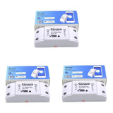 Sonoff Pack X 3 Interruptores Inalámbricos  Wifi 220v 2200w