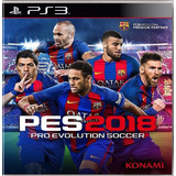 Pro Evolution Soccer 2018 Pes 18 / Ps3 Digital