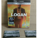 Logan Blu Ray Stock Entrega Inmediata 4k Slipcover