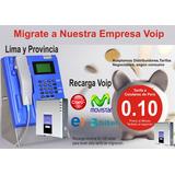 Recargas Voip Telefono Publico Locutorios Celulares 0.10