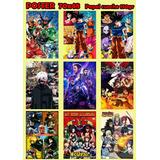 Poster Anime Por Mayor Y Menor