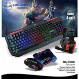 Kit Gamer 4-1 Poseidon Halion Ha-850c