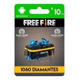 Garena Free Fire 1060 Diamantes Android - Global