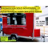 Piotrek Remolques Modelo 3016 Prom Food Trailer Food Truck