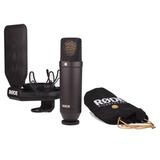 Kit Micrófono Condensador Estudio Rode Nt1kit + Garantía