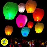 Globo Aerostático Aereos Colores Sky Lanterns San Borja