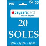 Pin Paysafecard De 20 Soles