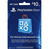 Psn 10 Dolares Usd Para Psn Ps3 Ps4 Playstation Codigo