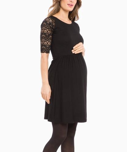 cb89e8d98 Vestido Para Lactancia De Encaje embarazada-ivanitaashion!!