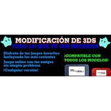 Flasheo 3ds 2ds New Xl Todas Versiones 11.9, ¡juegos Gratis!