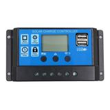 Controlador De Carga 30a Panel Solar Cargar Bateria 12v/24v