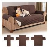 Set Cobertor P/ Muebles De 3-2-1 Cuerpos Reversibles
