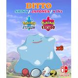 Ditto Ultra Shiny Competitivo 6iv's Pokémon Espada / Escudo