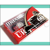 A64 Cassette Normal Ur 60 Audio Maxell Sellados