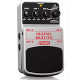 Pedal Multiefecto Digital Behringer Fx600 Garantia+cupon